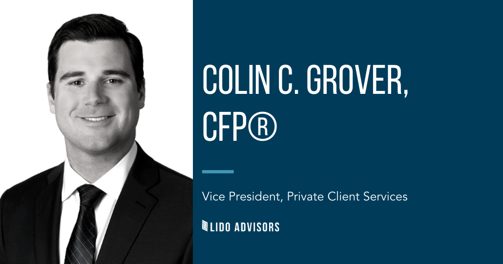 Colin Grover, CFP, VP Private Client Services